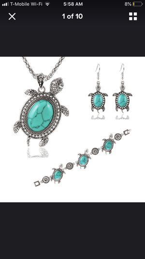 Turquoise necklace set for Sale in Falls Church, VA