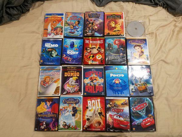 20 Disney DVD's, Pixar, Lion King