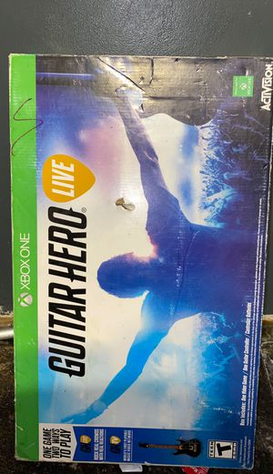 Guitar Hero Live (NO GAME/NO DONGLE) Xbox One for Sale in Garden Grove, CA