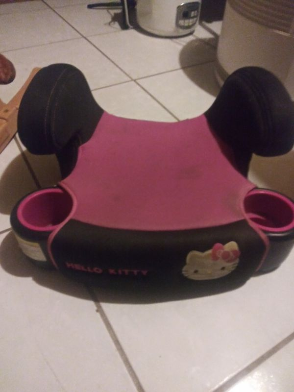 Hello kitty booster car seat
