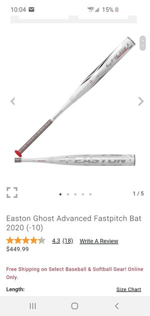 Easton Ghost Advance -11 30/19 for Sale in Hacienda Heights, CA