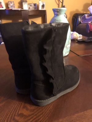 Girl Black Boots for Sale in Macedonia, OH