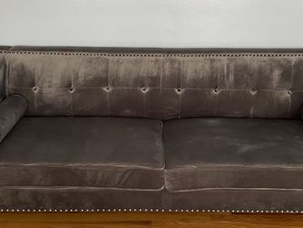 2 Modern Grey Sofas For Sale for Sale in Dearborn,  MI