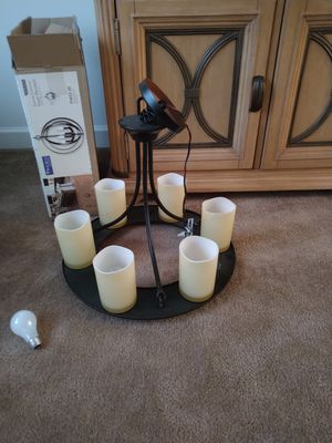 Chocolate brown candle opera Chandiler for Sale in Smyrna, DE