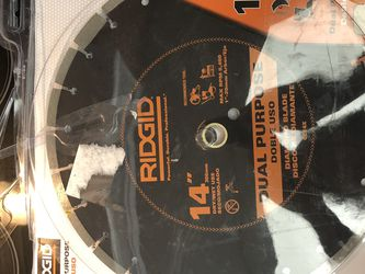 "Ridgid 14"" Dual Purpose for Sale in Brandon,  FL"