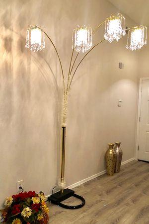 """Gold floor lamp 85""""H for Sale in Glendale, AZ"""