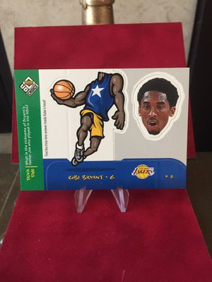 "1998 Upper Deck ""UD Choice"" Kobe Bryant Mini Bobbing Head Insert #13 of 30. for Sale in Oakley, CA"