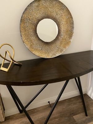 Entry way table vanity table console table modern sofa table for Sale in Glendale, CA