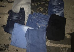 Size 13 jeans lot of 8 for Sale in Falls Church, VA