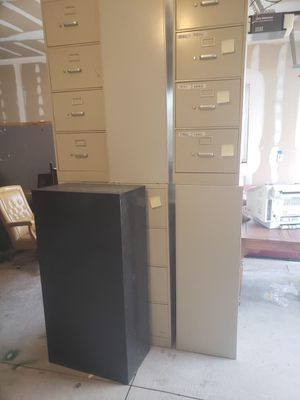 Heavy duty file cabinets for Sale in West Valley City, UT