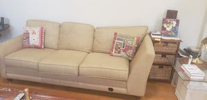 Beige 2 piece couche for Sale in Rockville, MD