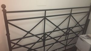 Steel King bed frame for Sale in Columbia, TN