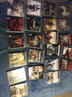 Lot of 22 ps3 games for Sale in Grand Prairie, TX