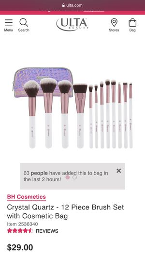 BH Cosmetics 12 piece makeup brush set for Sale in Whittier, CA