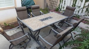 7 piece patio furniture for Sale in Irvine, CA