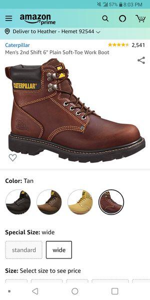 Caterpillar Men's Footwear Second Shift 8.5 for Sale in Hemet, CA