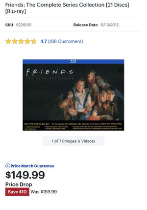 Friends Blu Ray Collection for Sale in Laredo, TX