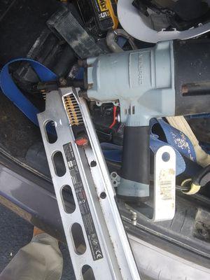 Aeropro framing nail gun for Sale in San Antonio, TX
