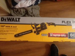 "16 "" 60V max 2 Ah brushless chainsaw for Sale in Modesto, CA"