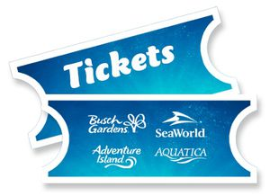 Sea world 4 tickets for Sale in Tampa, FL