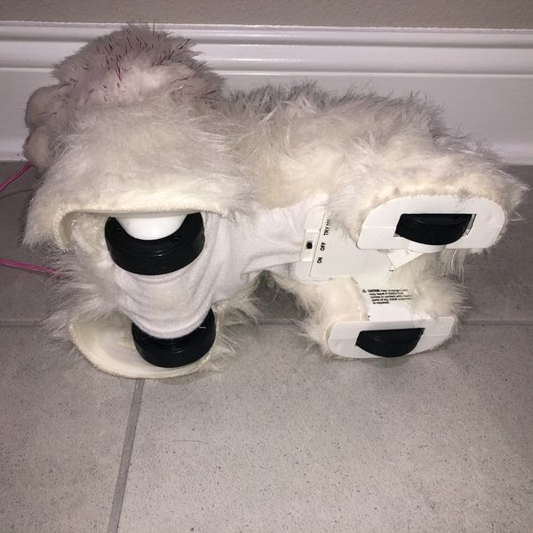 FurReal Friends Get Up and GoGo My Walkin Plush Pup Pet with attached remote control leash