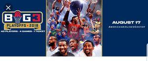Big 3 Basketball Tournament - Dallas for Sale in Wichita, KS