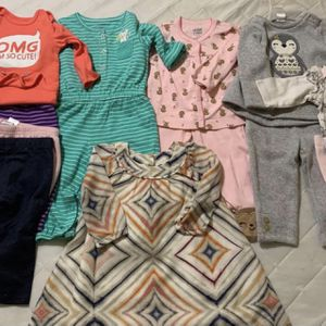 6 Month Girls Clothing Lot And 6-9 Month Jackets (2 Pics) for Sale in Moore, OK