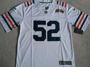 (M) Chicago Bears 100 Mack Jersey Size Medium for Sale in Chicago, IL