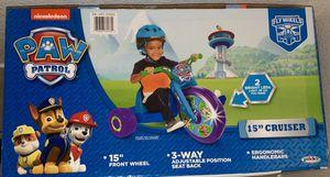 Paw patrol 15in bike/cruiser for Sale in Manteca, CA