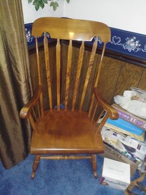 Solid Wood Rocking Chair for Sale in North Salt Lake, UT