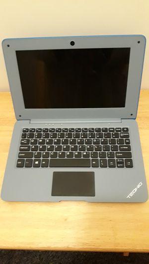 """Broken Teqnio 10.1"""" Blue Ultra Slim Laptop for Sale in Tacoma, WA"""