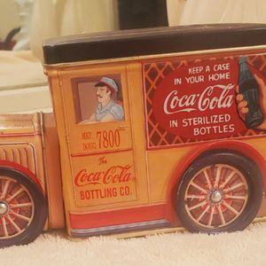 Vintage Tin Truck Toy Coca cola for Sale in Selma, CA