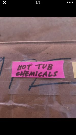 Hot tub chemicals for Sale in Bakersfield, CA