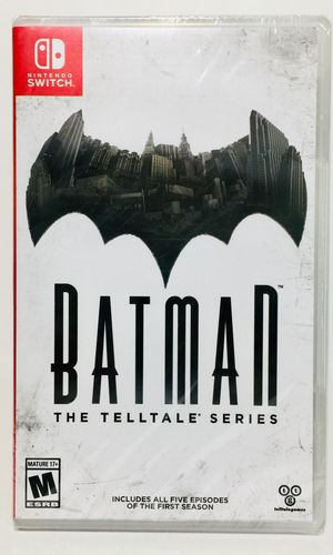 Brand New Batman The Telltale Series Nintendo Switch for Sale in Bothell, WA
