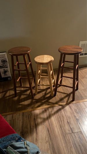 Wooden stools for Sale in Tacoma, WA