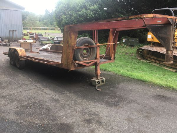 Gooseneck trailer
