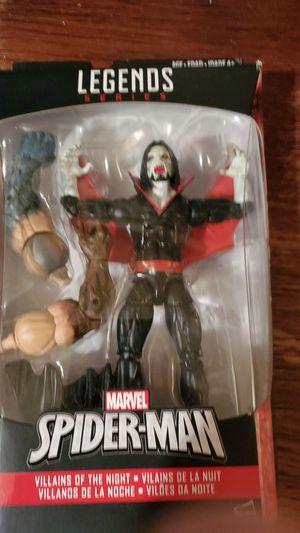 Marvel legends series spider man morius Action figure for Sale in Houston, TX
