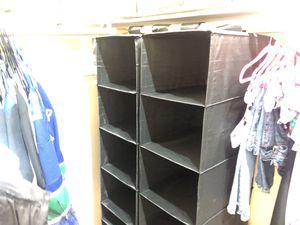 Hanging closet organizer for Sale in Chandler, AZ