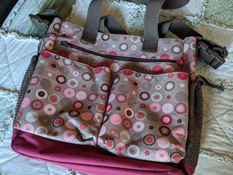Spark Diaper Bag By Hip Hop Pink & Brown for Sale in Gresham,  OR