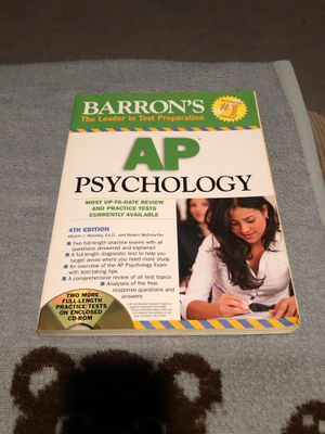 Barron's AP Psychology for Sale in Buena Park, CA