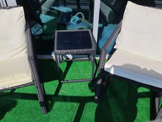 Outdoor Chairs Recliners Set - Balcony Chairs - $150 for Sale in McLean,  VA