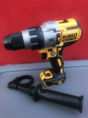 DEWALT 20VOLT MAX XR LITHIUM ION CORDLESS BRUSHLESS 1/2 IN PREMIUM HAMMER DRILL/DRIVER 3-SPEED (TOOL ONLY) for Sale in Redlands, CA
