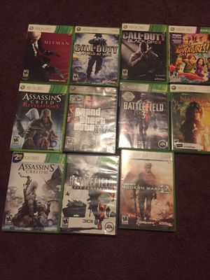 Xbox 360 games for Sale in Monroe, NC