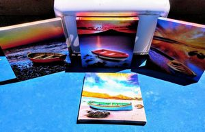 Small picture frames of the beach 4 of them total. Name your price offer ( not free ) for Sale in Downey, CA