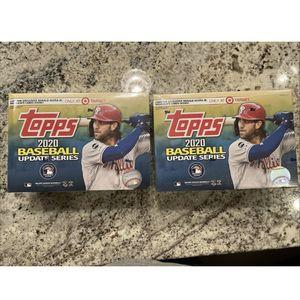 Lot Of 2 2020 Topps Baseball Update Mega Box for Sale in Seattle, WA