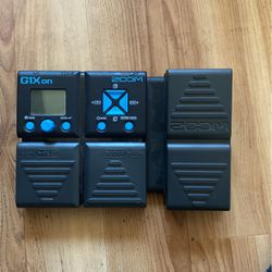 G1X on ZOOM PEDAL for Sale in Richmond,  CA