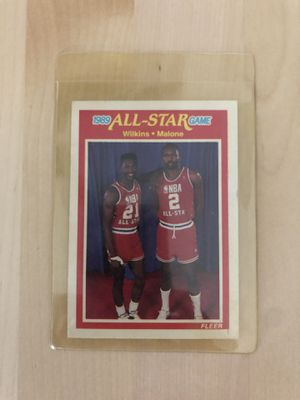 Wilkins and Malone vintage collectible card for Sale in Los Angeles, CA