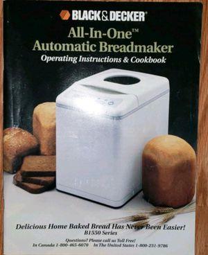 Bread maker by Black & Decker for Sale in Vista, CA