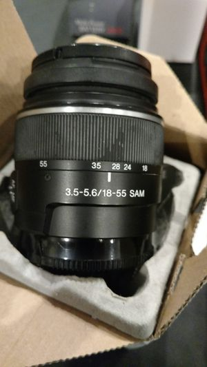 Sony Alfa 18/55 lens for Sale in Arlington, TX