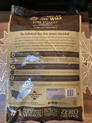Taste of the Wild- Pine Forest Premium Dog Food for Sale in San Diego, CA